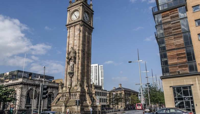 Belfast's Albert Memorial Clock