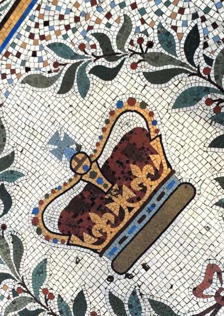 Crown Bar mosiac