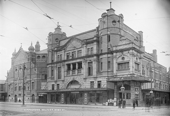 Old Belfast Hippodrome, Beside what is now Belfast's Opera House