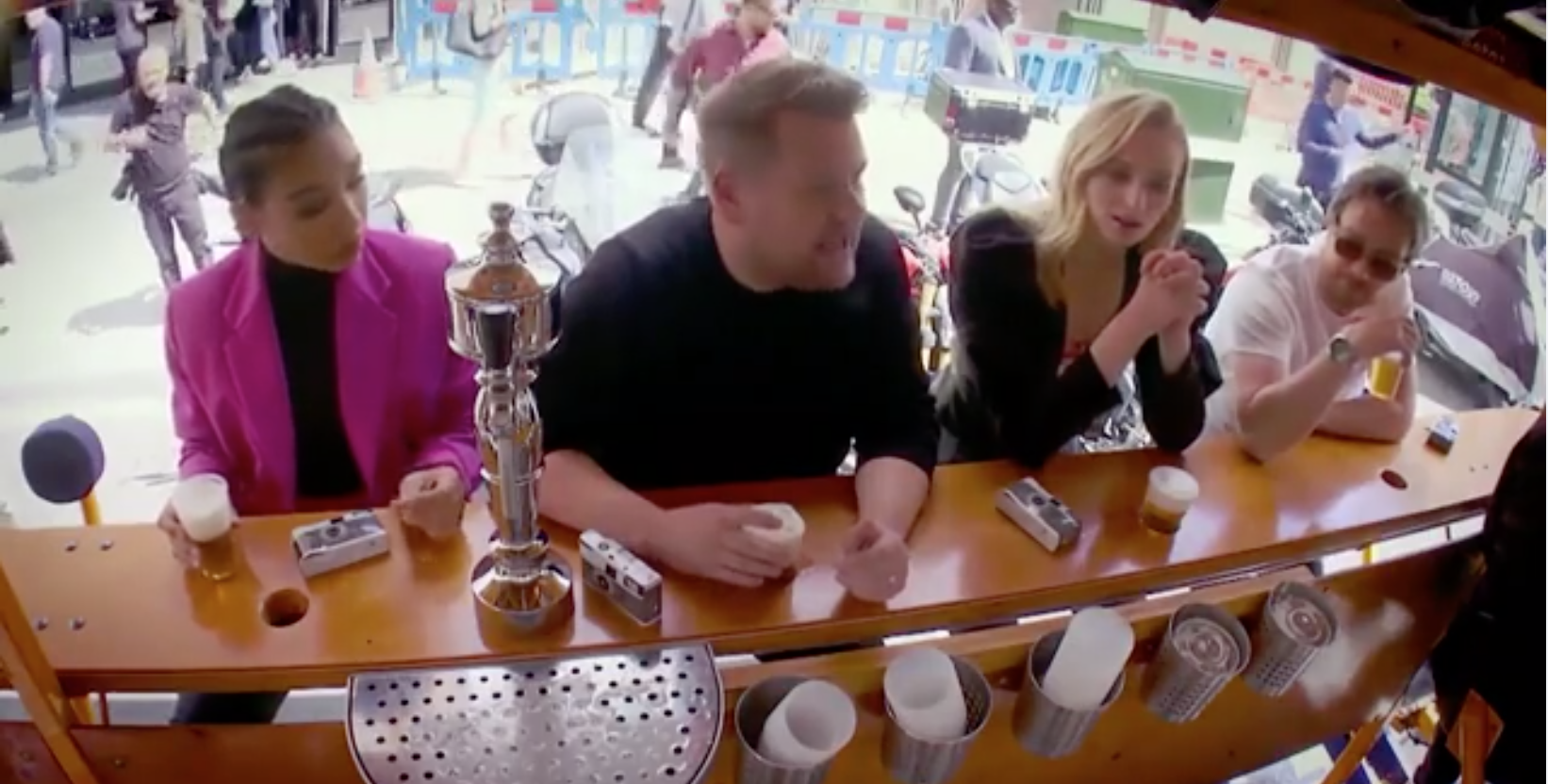 Wee Toast Tours in London rides with James Corden